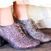 Twinkle toes: Festive Footwear