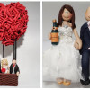 Totally Toppers: A personalised Bride & Groom for your wedding cake