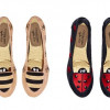 Ladybird and bumble bee foldable flats by Cocorose London
