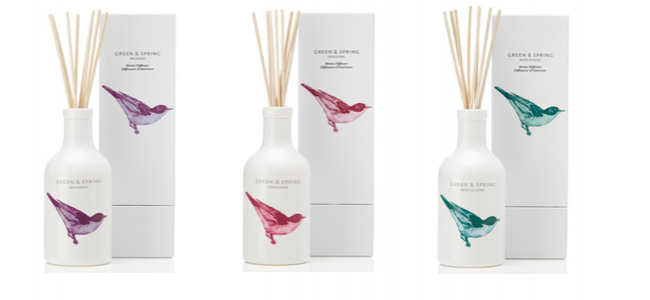 Green and Spring release beautifully scented home diffusers