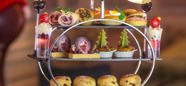 The magical Eric Lanlard Festive Afternoon Tea at Jumeirah Carlton Tower