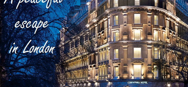 A weekend escape in the city at The Corinthia