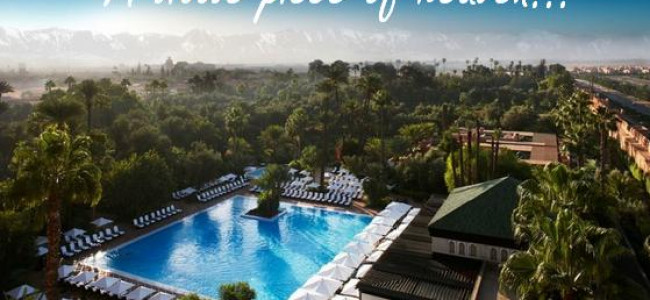 La Mamounia: An idyllic Moroccan oasis in Marrakech