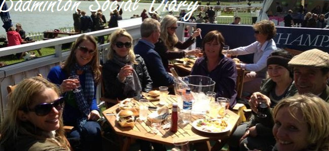 The Outside Chance Bar hosts the movers and shakers at Badminton Horse Trials