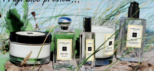 Jo Malone's Wood Sage & Sea Salt; the British coastline in a bottle