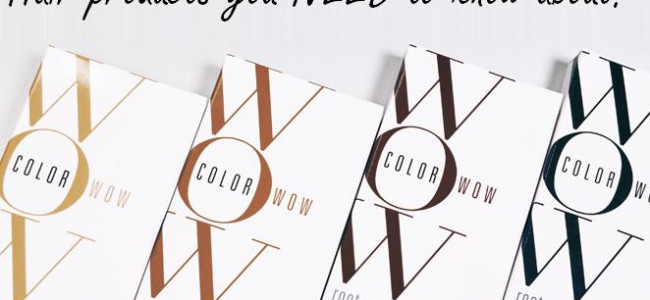 Color Wow launch brings haircare to a new level