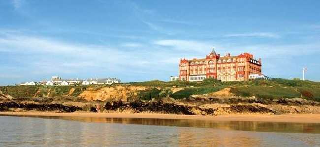 A surfing escape at The Headland Hotel