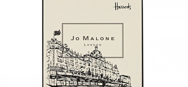Jo Malone launch exclusive Harrods Illustrated Boxes