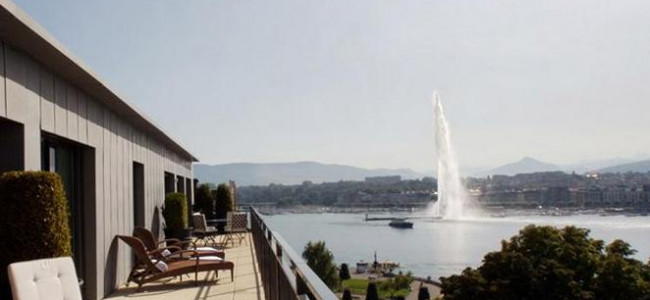A night of luxury at Hotel Le Richemond in Geneva