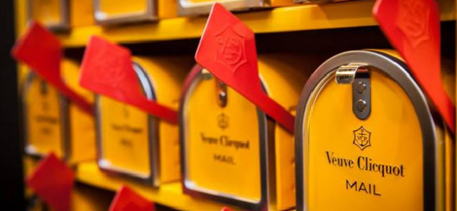 Your chance to design for Veuve Clicquot