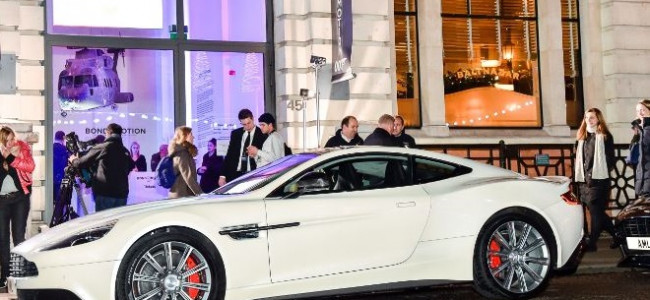 Aston Martin 'In Motion' Celebrates 50 Years of Bond