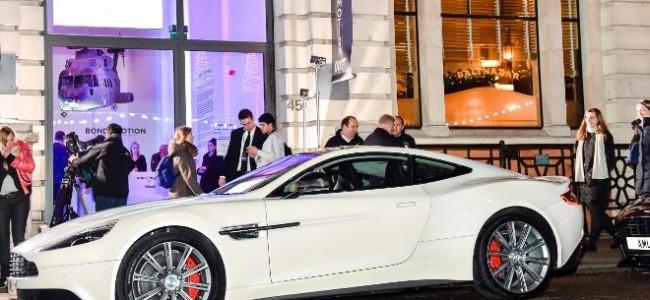 Aston Martin 'In Motion' Celebrates 50 Years of Bond