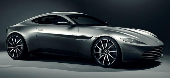 Only the best for Bond: We test drive the Aston Martin fleet
