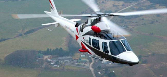Hop on a helicopter to the Isle of Wight Festival