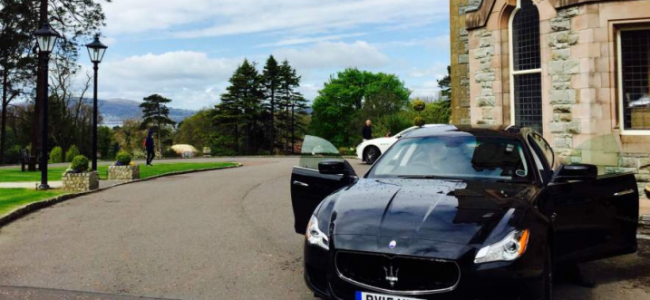 Exploring Northern Ireland with Maserati
