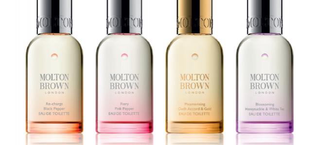 New Molton Brown Eau de Toilette Collection launches