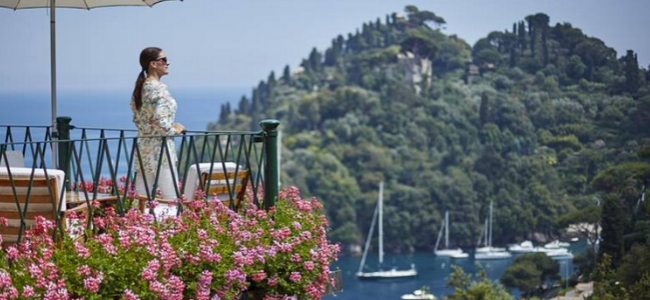 The spectacular Belmond Hotel Splendido in picturesque Portofino