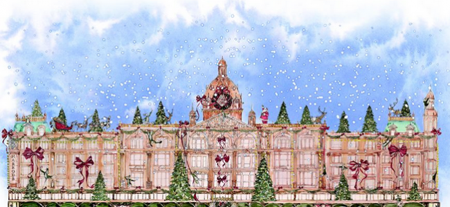 Christmas afternoon tea launches at Harrods