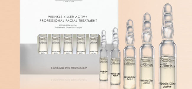 skinChemists introduce a Wrinkle Killer concentrated serum