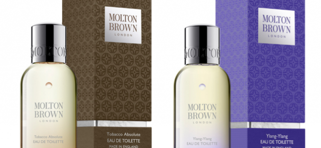 Fragrance pairing at Molton Brown for Valentine's Day