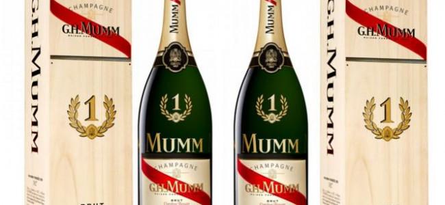MUMM No.1 VictoryChampagne: A Limited Edition Jeroboam