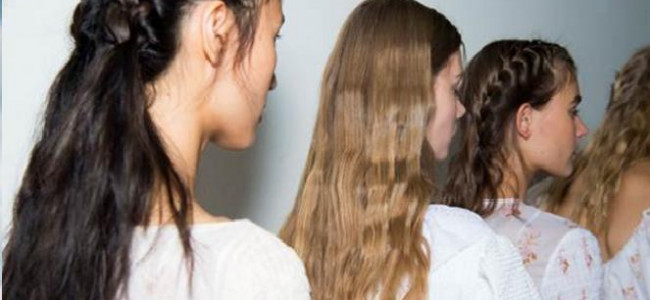 #LFW hair inspiration: Backstage at Emilia Wickstead with John Frieda