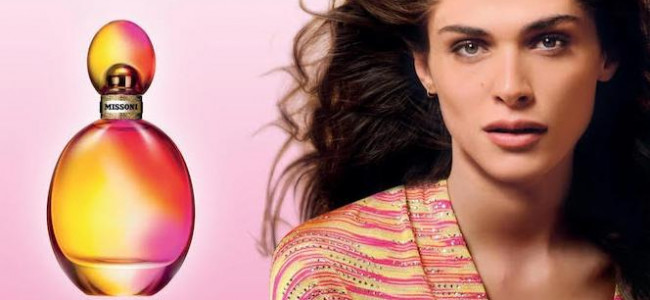 The new Missoni fragrance is bright and feminine
