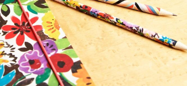Floral fun with the Collier Campbell stationary range
