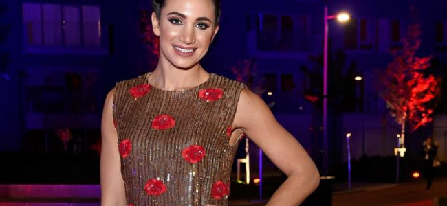 Laura Wright wows in Open for Vintage at London City Island launch