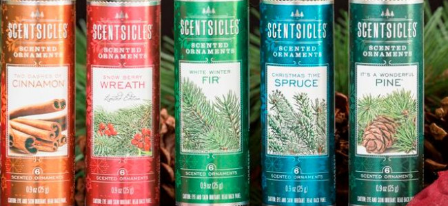 Bring your Christmas tree to life with ScentSicles