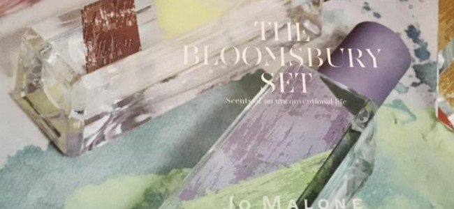 A preview of the inspiring new Jo Malone collection, The Bloomsbury Set