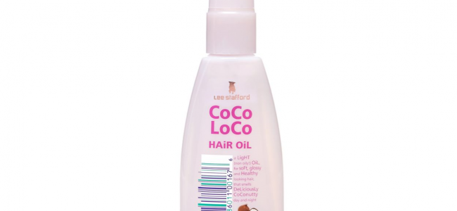Get glossy hair with Lee Stafford CoCo LoCo Hair Oil