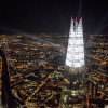 The Shard will light up London with its annual festive display