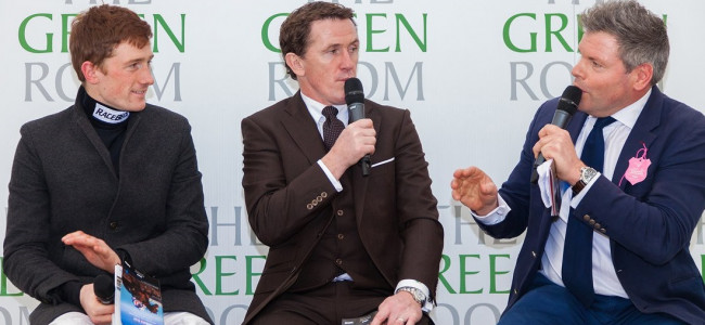 Sporting legends gather in Cheltenham's new VIP hotspot, The Green Room