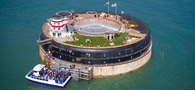 Solent Forts: A luxury hotel experience in the middle of the sea
