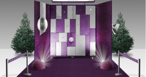 The giant Molton Brown Advent Calendar is back!