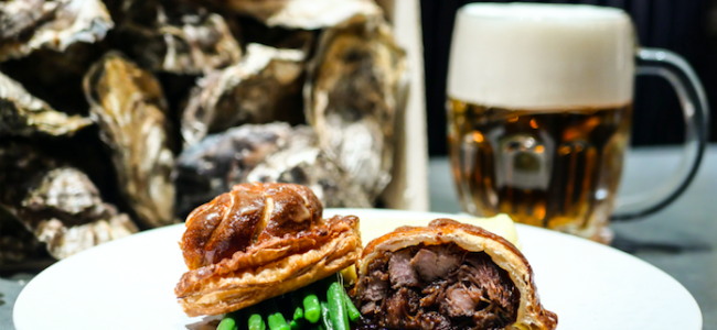 Galvin HOP celebrate National Pie Day with a special Oyster & Steak Pie