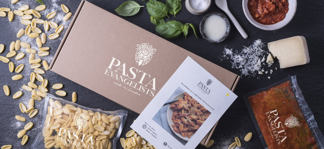 Dine at home in style with Pasta Evangelists