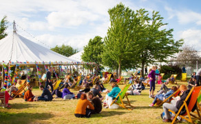 Champagne Bollinger's partnership with Hay Festival Wales