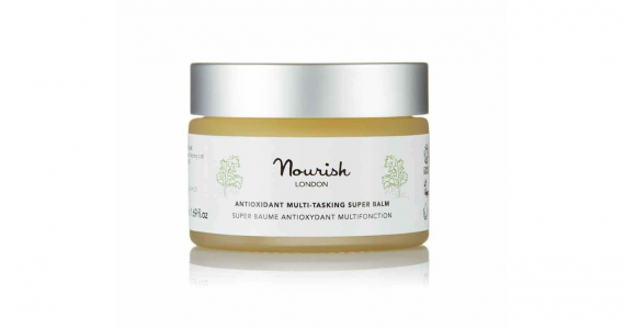 Prepare your skin for the barefaced beauty look with Nourish London's Antioxidant Multi-Tasking Super Balm