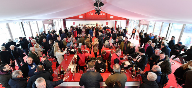 The Bollinger Tent returns to Twickenham