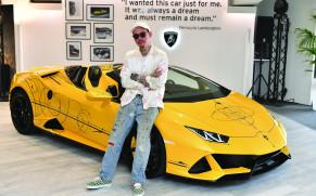 Lamborghini presents a unique Huracán EVO Spyder