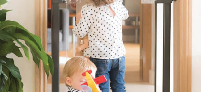 Baby proofing your home with Fred safety gates