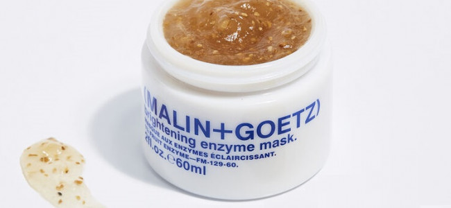 Beauty Buzz: An express facial with the Malin + Goetz Brightening Enzyme Mask