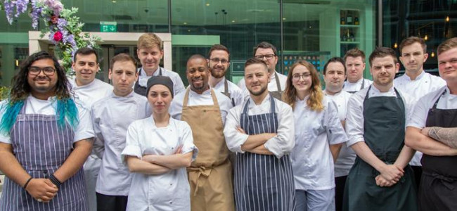 Tables available at the M Young Chef of the Year Winner's Dinner
