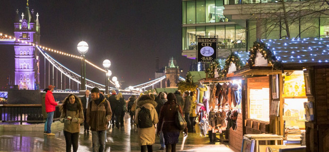 Christmas by the River returns to London Bridge City on the 26th November 2019