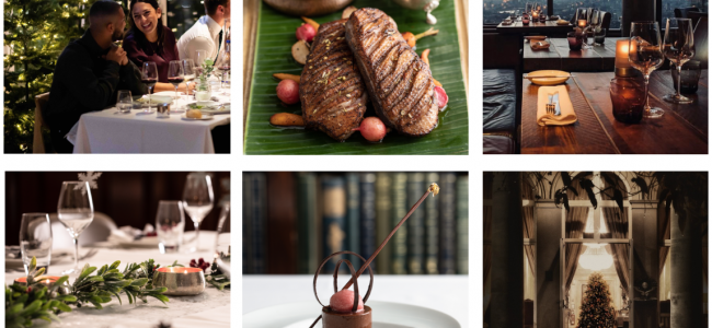 Christmas Day dining suggestions in London