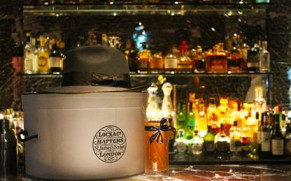 L'oscar hotel collaborates with London hatmakers Lock & Co. Hatters for festive season
