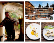 New menu by two-Michelin starred chef Édouard Loubet at Le M de Megève