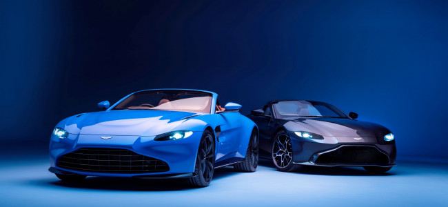 Aston Martin unveils the new Vantage Roadster